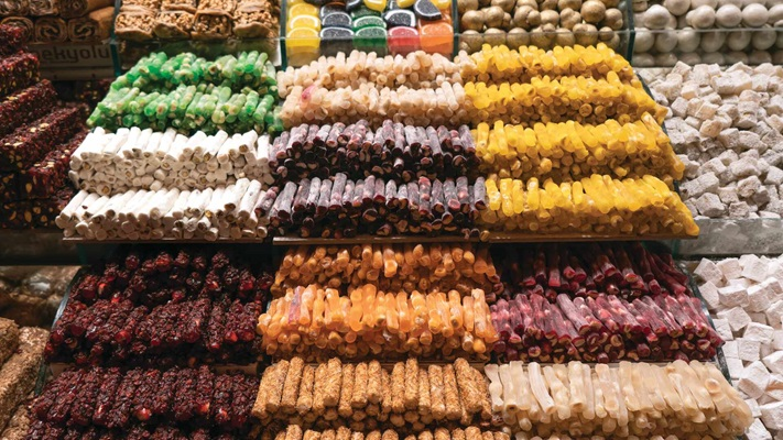 Turkish Delights in Spice Bazaar