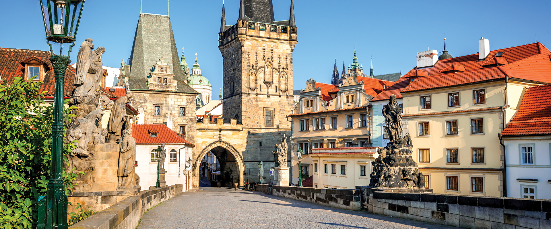 Fall in love with Prague.