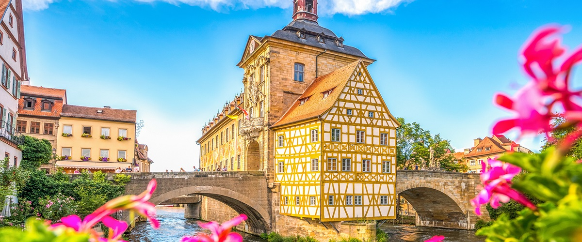 The Old Town Hall in Bamberg, Bavaria Germany