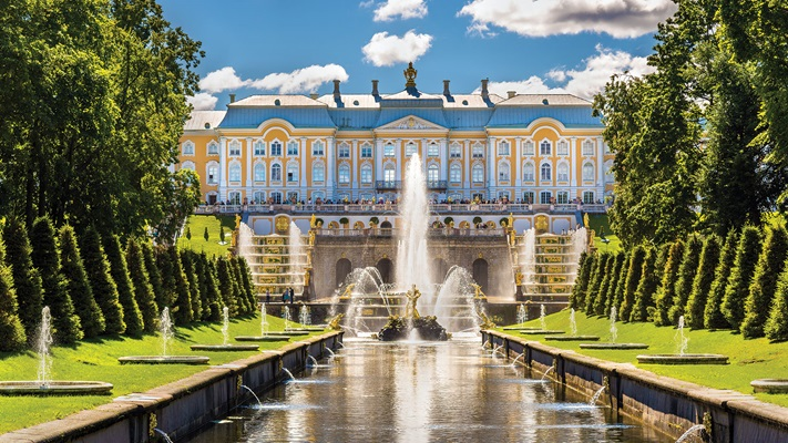 Visit the famous Peterhof Palace.