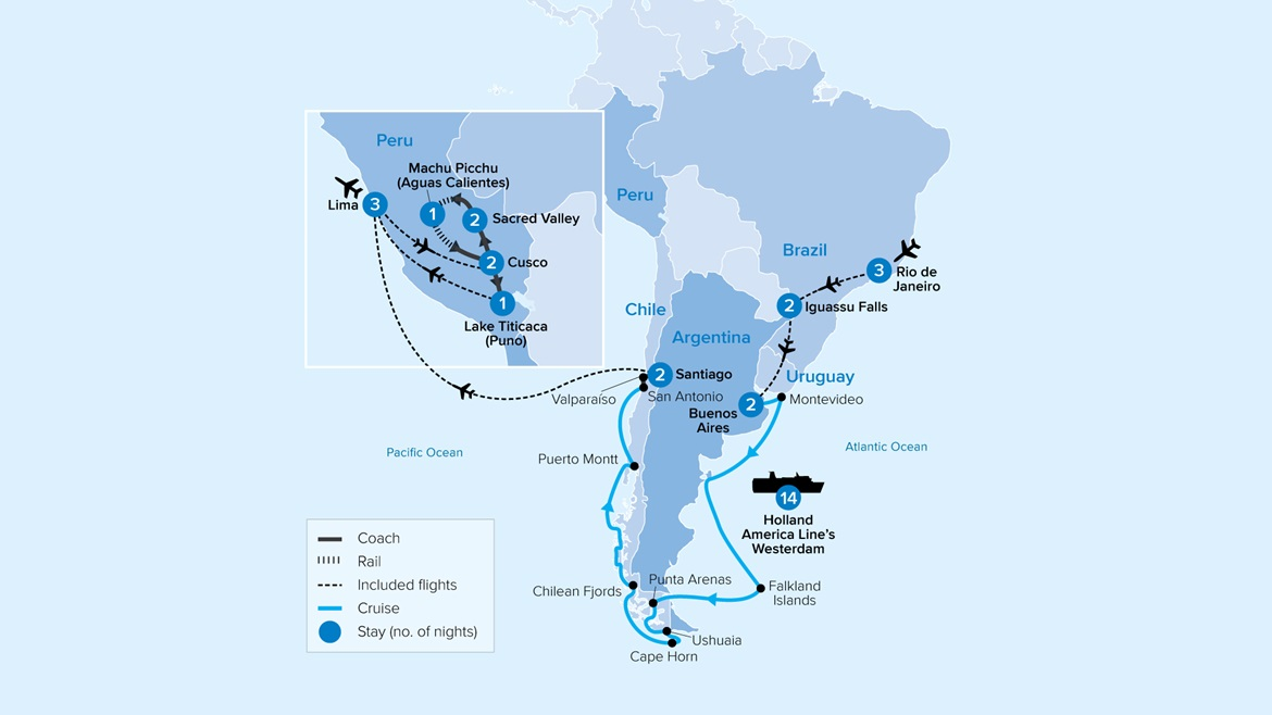South America Map ISTH33 2021