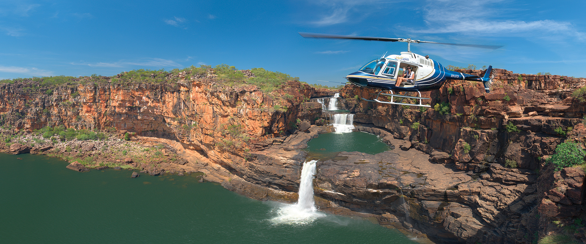 Air tour over Mitchell Falls